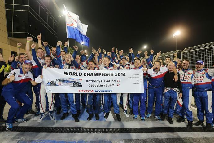 Amazing feeling to have won the #FIAWEC World Drivers Championship... http://t.co/mKCjifs1zE