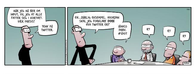 He-he, veldig bra stripe. #Lunsj med twitterhumor! http://t.co/VQ42gWCair
