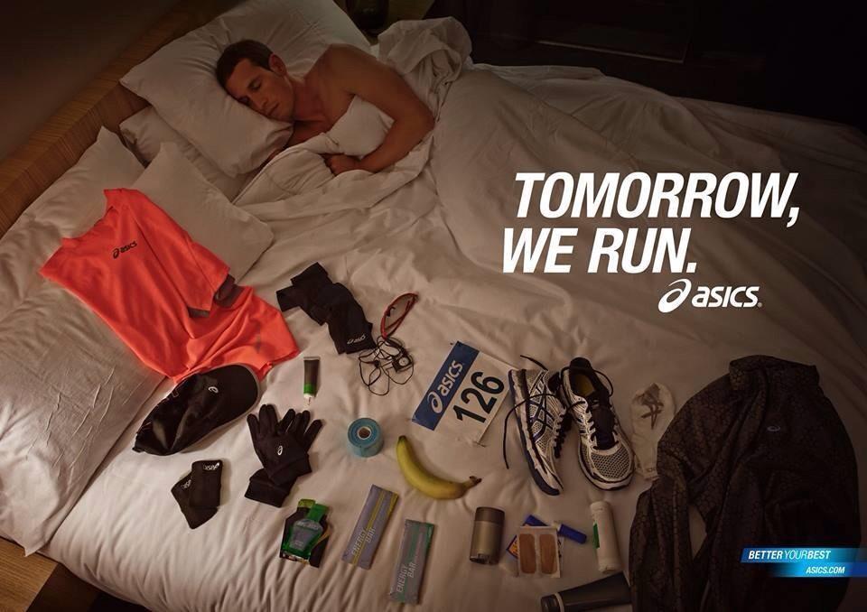 Tomorrow, we run. Bnoches! Especialmente a los #runners de @MaratonTenerife y @maratonvalencia #CorrerMeHaEnseñado http://t.co/JYpRpv1Ldg