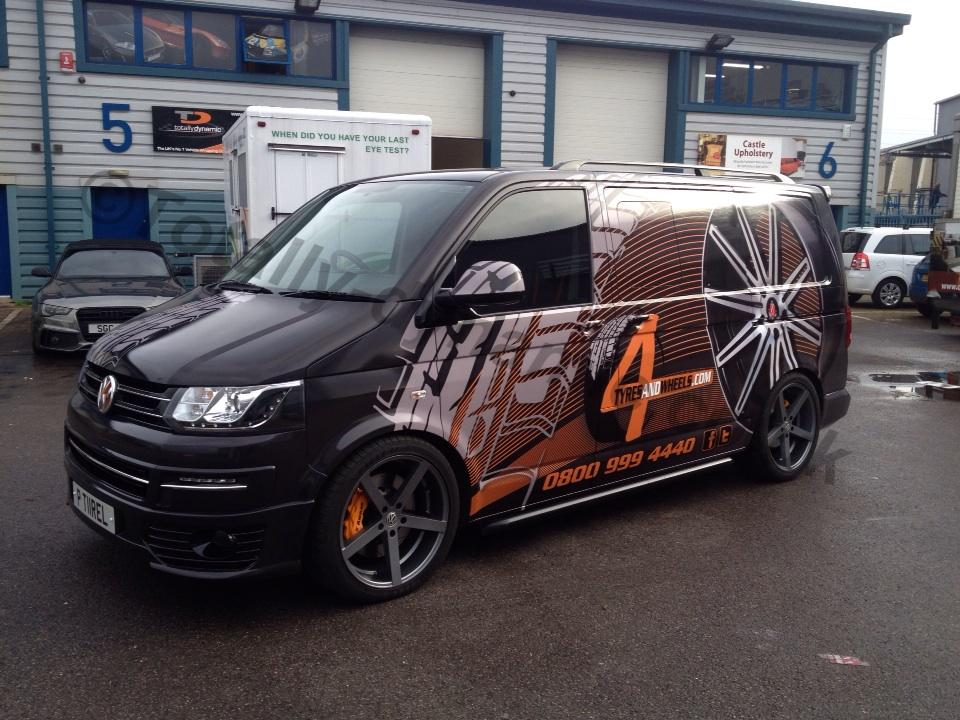 Totally Dynamic Ldn On Twitter Quot Wrapped Vw Transporter