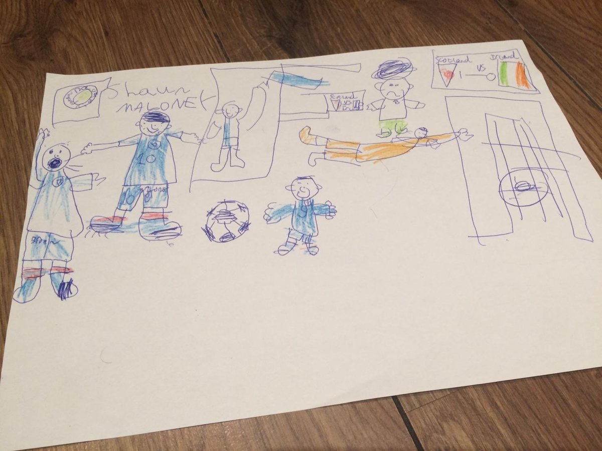 My wee boy's version of Shaun Maloney's goal #Scotland http://t.co/mmPSMvgmyw