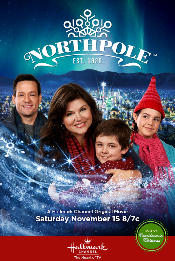 Tiffani Thiessen stars in the premiere of Northpole tonight at 8p. Witness the magic on @HallmarkChannel! http://t.co/CiGHJd4Cfx