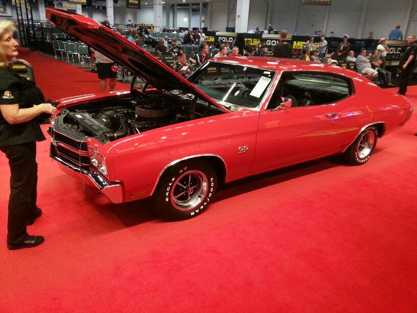 """Mecum Auctions on Twitter: """"Reserve is off! 1970 Chevrolet Chevelle SOLD at #Mecum #Anaheim for $24,000 http://t.co/gsWtHRy2wh"""""""