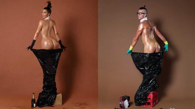 Glamorous Fashion Stylist Kim Kardashian Asian Lingerie Sexy Photos 1