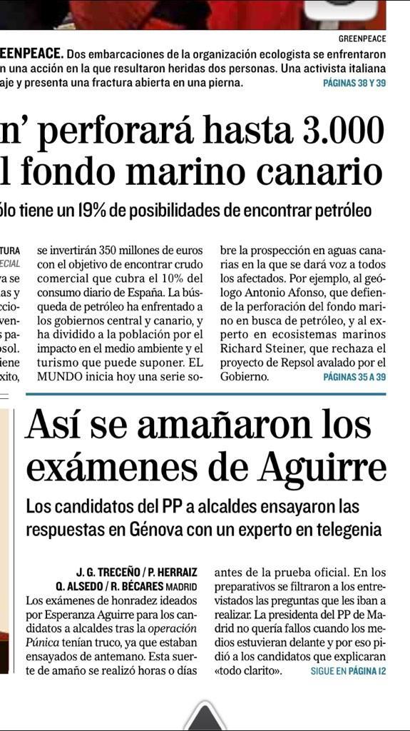 ¿Recuerdan los 'exámenes de honradez' para políticos de Esperanza Aguirre? Pues resulta que.... http://t.co/OrtakKQKiQ