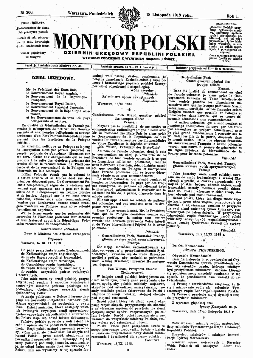 Historia Dyplomacji On Twitter 96 Lat Temu 16 Listopada