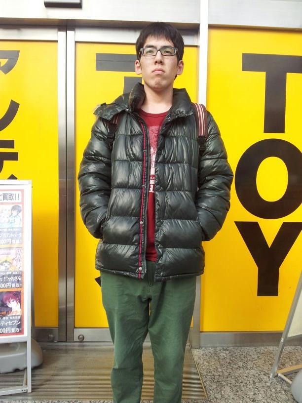 三時間で上野文也をコーディネートしてみました。 http://t.co/oHjcQPzXgC