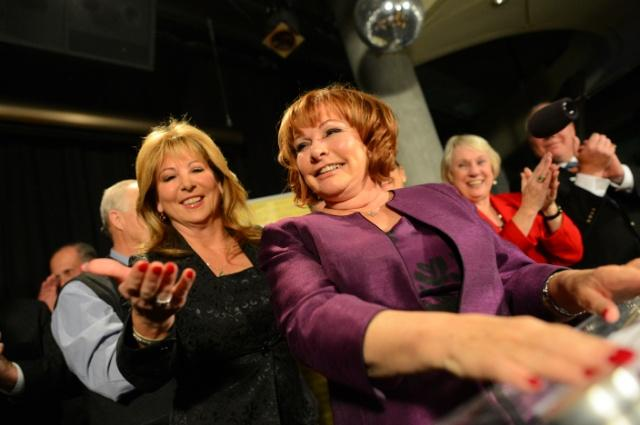 This is what victory looks like @LindaHepner @SurreyFIrst #SryElxn14 #surreybc http://t.co/NtQvtPGko7