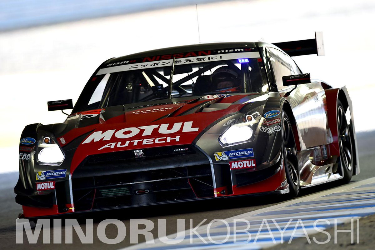 SUPER GT最終戦のもてぎ、MOTUL AUTECH GT-Rが優勝しチャンピオンを獲得!#supergt http://t.co/l1qvmNWmCQ
