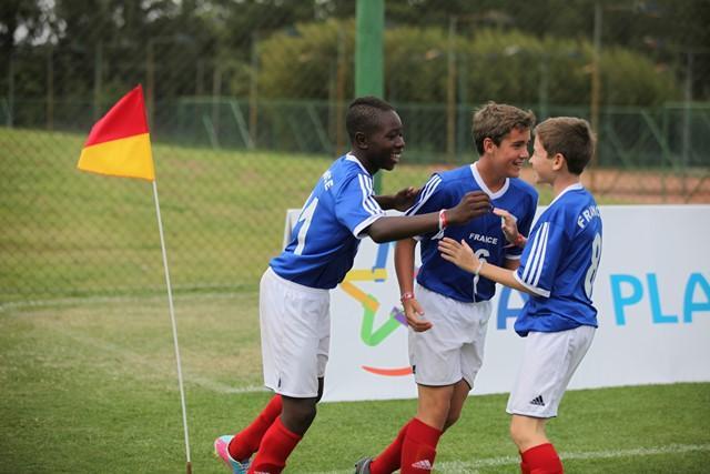 Les Girondins terminent 9èmes de la Danone Nations Cup