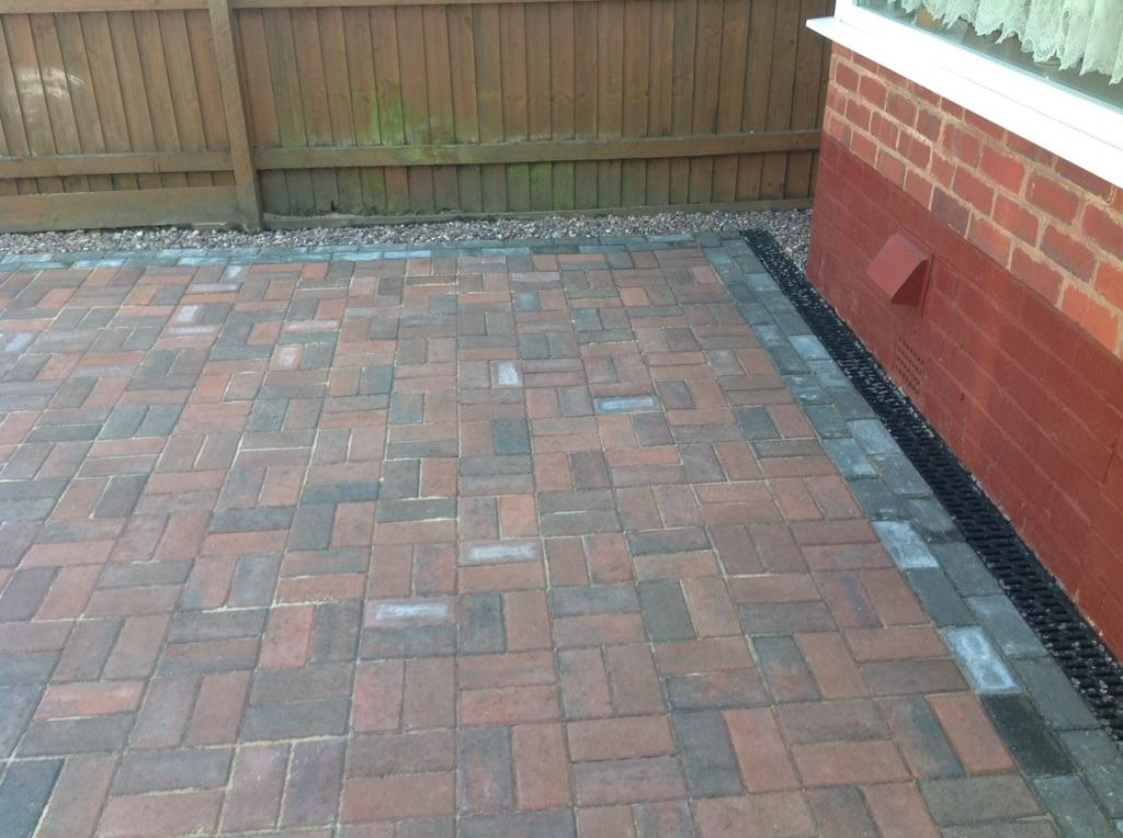 Basket Weave Pattern Paving : Greenroom landscapes on twitter quot mrs wades new drive in