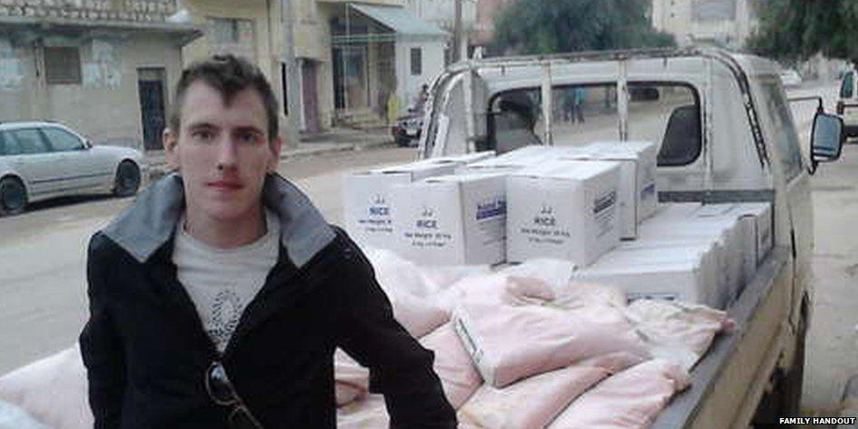 ISIS Muslim terrorists behead American hostage Peter Kassig