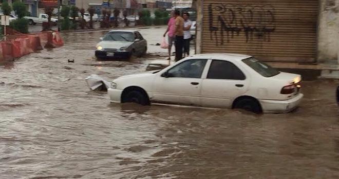 صور أمطار جدة اليوم الاثنين 24-1-1436 , حالة الطقس في جده 17/11/2014