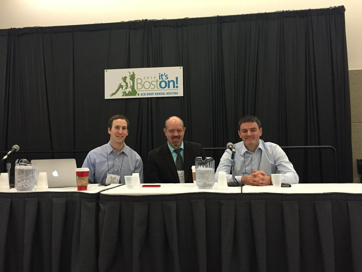 #acr14 about to begin session on social media with @psufka @RheumPearls and mRonanTKavanagh http://t.co/QJm5Dx0cMx