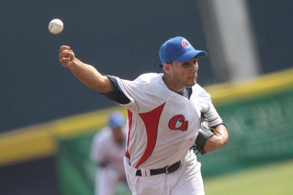 Sobresaliente actuación de lanzador camagüeyano en triunfo sobre Puerto Rico