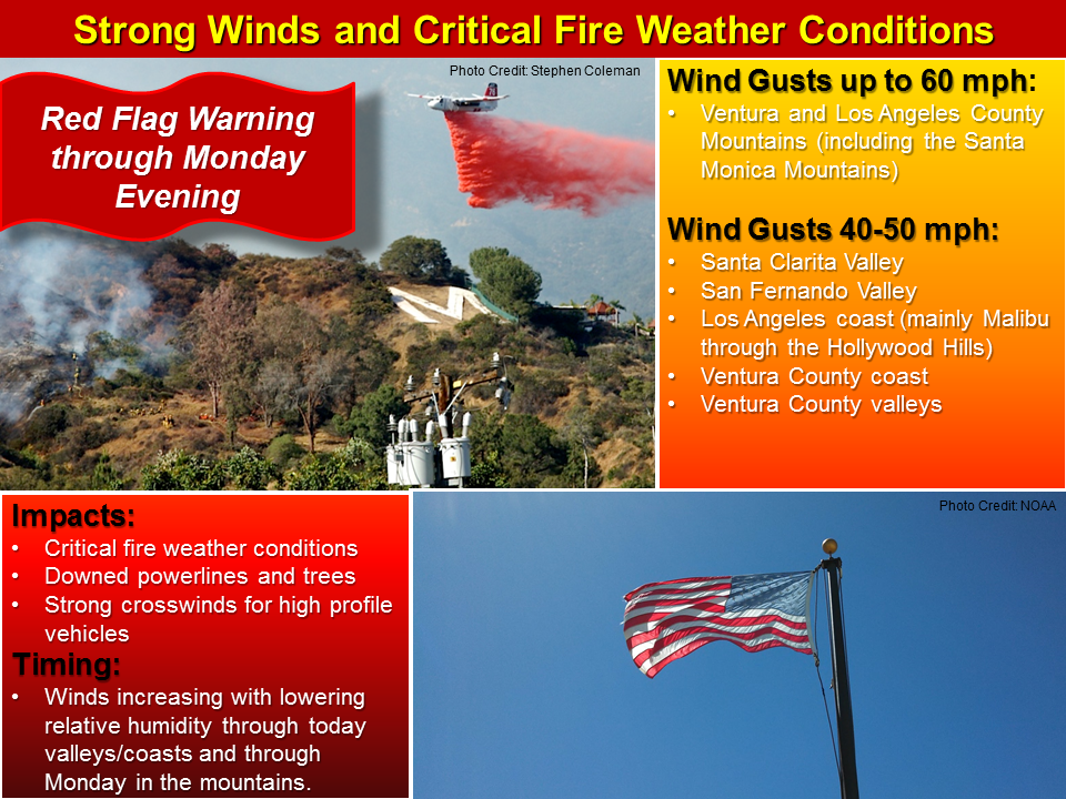 Strong #SantaAnaWinds developing today. Critical fire weather conditions are expected across #SoCal. #cawx http://t.co/IitsaWnFDX