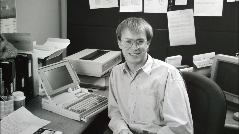 Steve in early 1990s