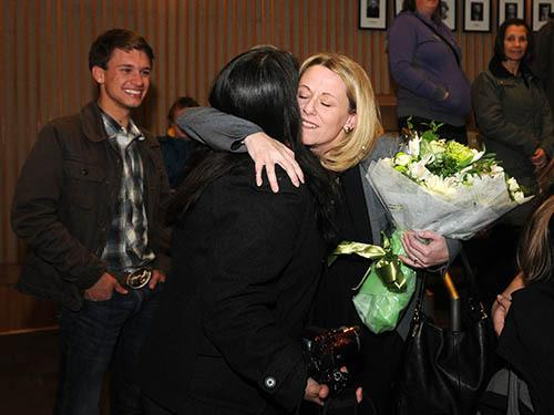 Newcomer Nicole Read knocks off Ernie Daykin to be Maple Ridge mayor @mapleridgenews http://t.co/m5ddkvJmls http://t.co/uboNJqHRxs