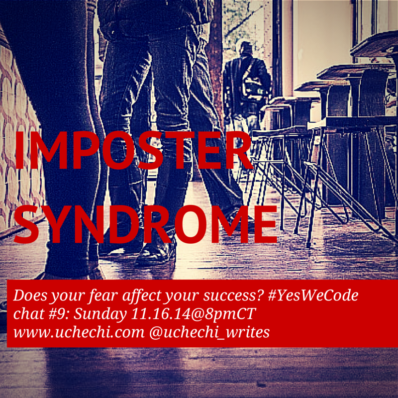 Thumbnail for #Yeswecode chat #9: Impostor Syndrome & success in tech