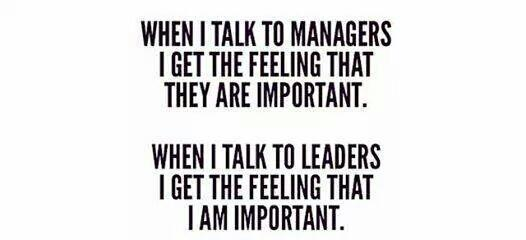 The key difference between Managers and Leaders: http://t.co/drhyMdeRiT