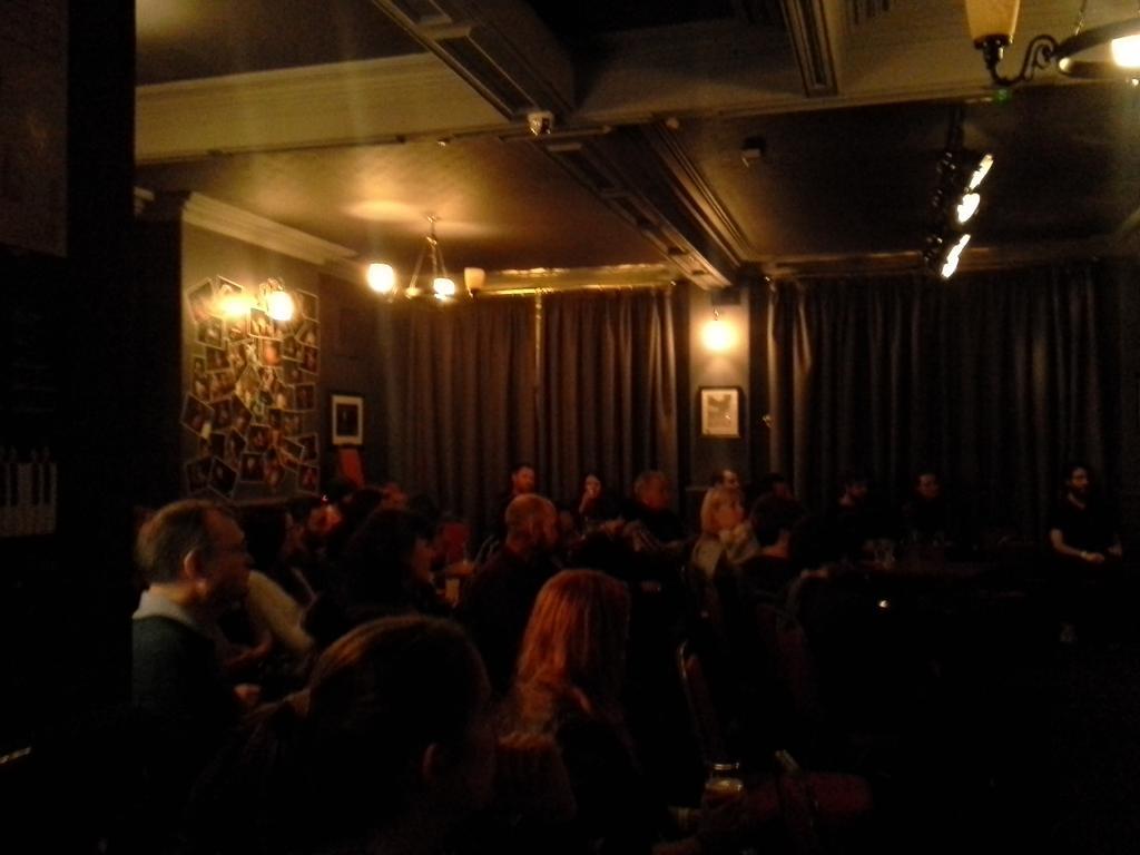 The crowd mesmerised by @ghbonello #oxjamcardiff http://t.co/mNLDATJ6sh