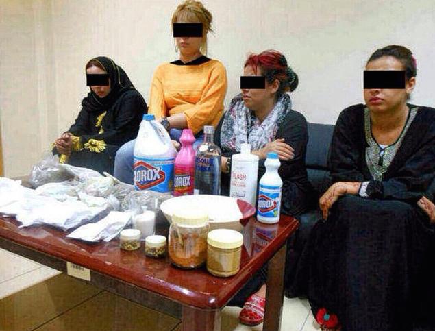 الداخلية: القبض على تاجرات في انستغرام يقومون ببيع خلطات تبييض   - شوفوا شنو يستخدمون فيها !!  اوه ماي قاد ! http://t.co/ti3OYgfIUz