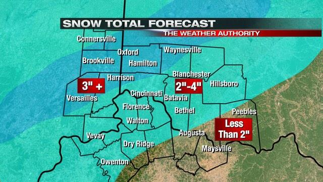 Winter Storm Warnings up for much of @Local12 area. Big mess tomorrow AM. Adjustments to this tonight at 10 & 11. http://t.co/t5VocoUIkf