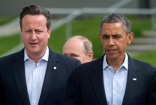 This photo sums up the #G20Summit in #Brisbane. #obama #cameron #putin #G20 #G20Brisbane http://t.co/ToCpERzqbm