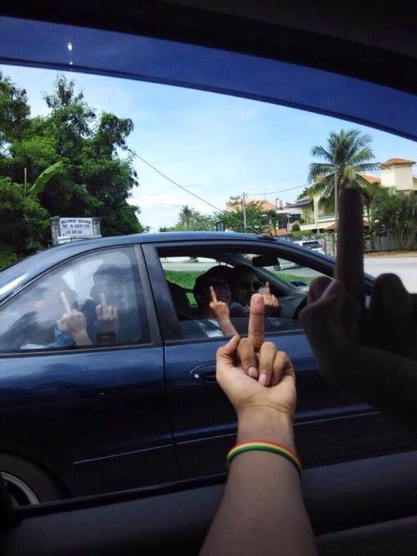 whenever u see ur friends on the road http://t.co/IfJvjTy9IP