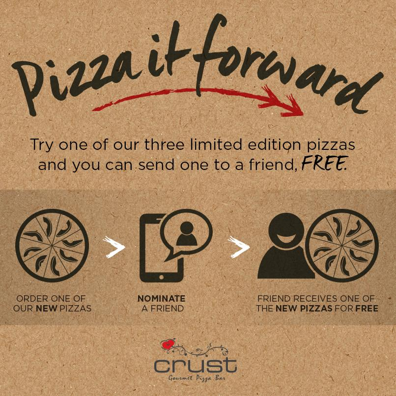 We're sharing thousands of pizzas to your mates, when you order one of our new pizzas. http://t.co/UpVOXPdcxo http://t.co/5Jl6vUXoSI