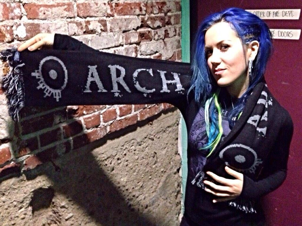 "Alissa White Gluz On Twitter Congratulations To: Alissa White-Gluz On Twitter: ""Cozy, Non-wool, Double"