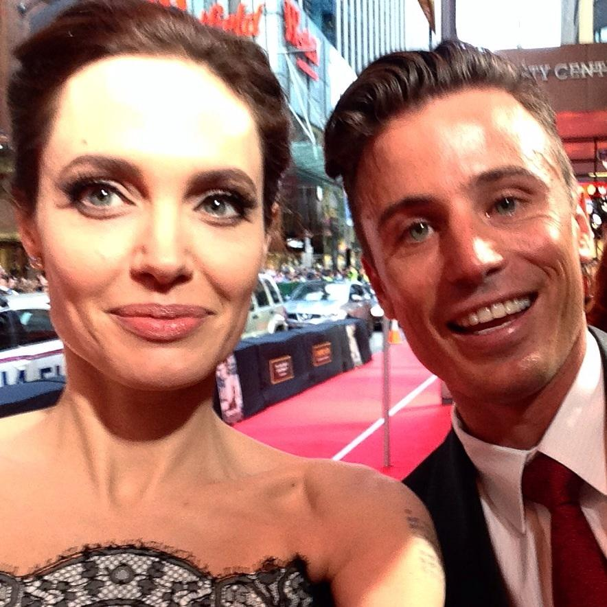 Strong selfie taken by Angelina #unbroken #eventTV @event_cinemas #angelinajolie http://t.co/gYTqq6MEws
