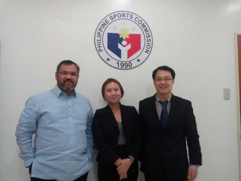 UCAM meeting with the executive Sports director of the Philippine Sports Commission to develop collaboration in sport http://t.co/4FtTFCByti