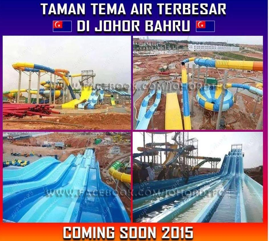 What Supjohor On Twitter Taman Tema Air Terbesar Di Johor Http