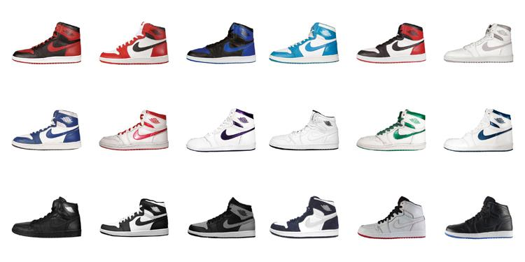 premium selection c2a11 26c85 look back at the lineage of the air jordan 1 with our definitive colorway  guide