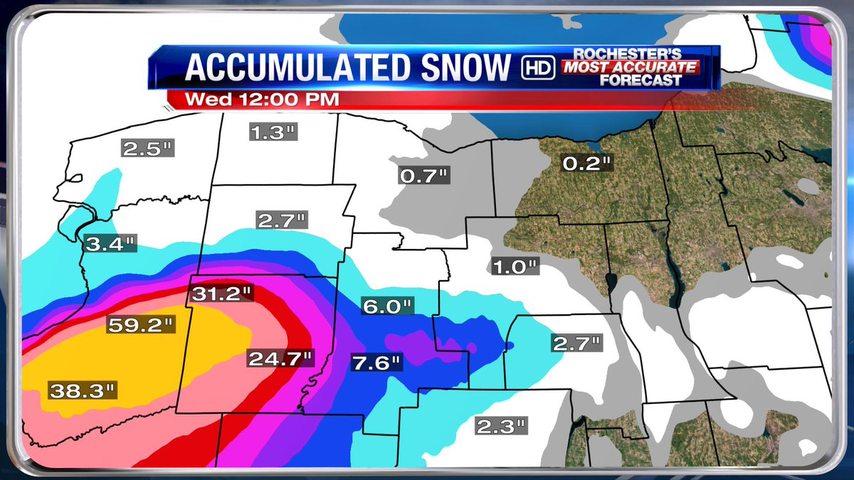 """Some numbers are over/underdone (0.7"""" in #ROC, 59"""" near Buf?!) but you get the point. Someone will get dumped on! http://t.co/dB1Q7IRbQd"""