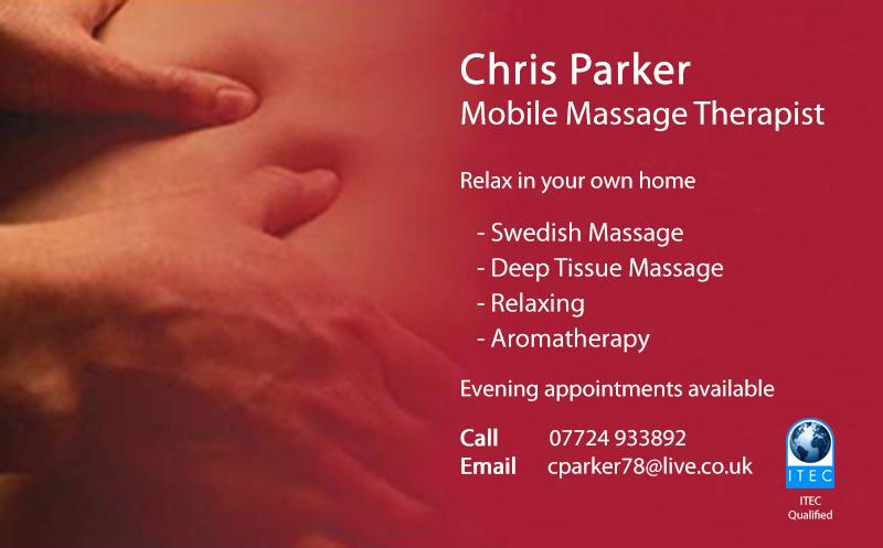 sb web graphics on twitter business card design of a local nottingham mobile massage therapist businesscards httptcowzdhg4inqf - Massage Therapy Business Cards