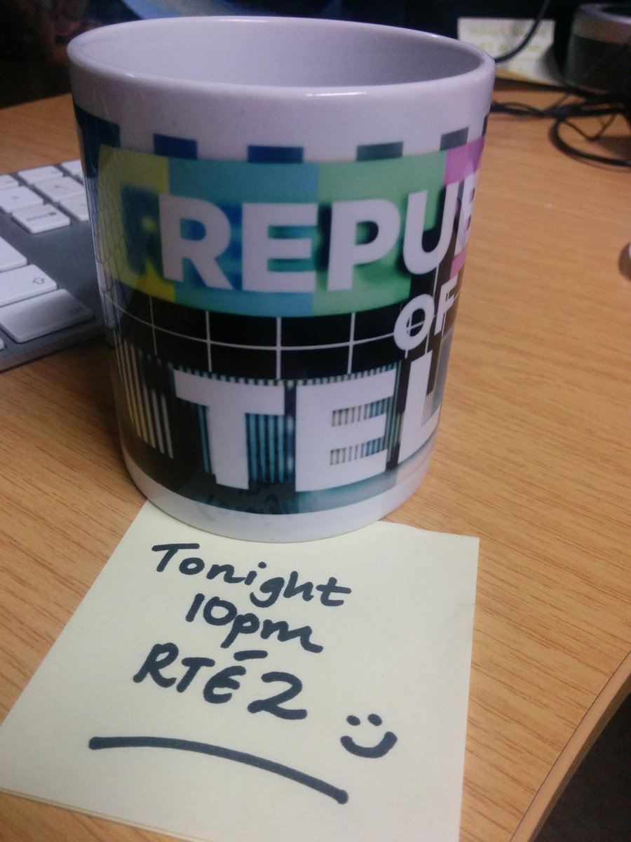 Fancy this @republicoftelly mug? RT this tweet. And see you at 10pm tonight on @RTE2 @RTEplayer http://t.co/2dkvurCKg9