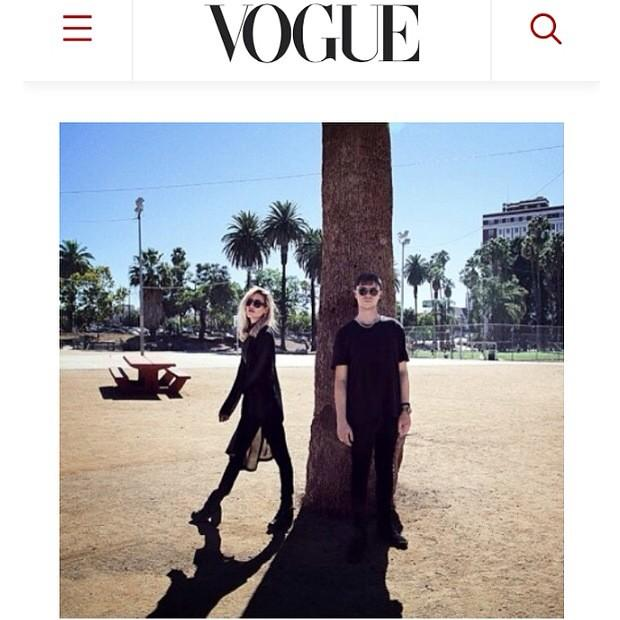 Hear our cover of Mariah Carey's song 'Heartbreaker' w. @tokimonsta today at @voguemagazine  http://t.co/gxjwa8mHRm http://t.co/pL47ky1BzJ