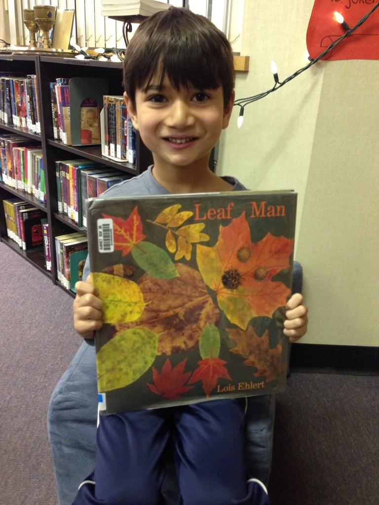 Leaf Man by Lois Ehlert   The leaf goes to different places. The pictures are colourful and awesome. AU #gvlearn http://t.co/YLxtAWSEUW