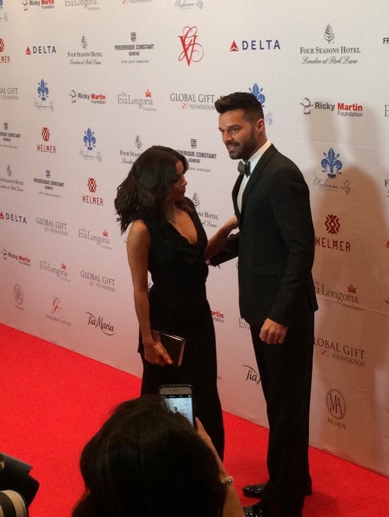 Thank you @EvaLongoria & @ricky_martin and all the attendees who helped make it such an amazing night!#InTiaWeTrust http://t.co/rkLStx28BN