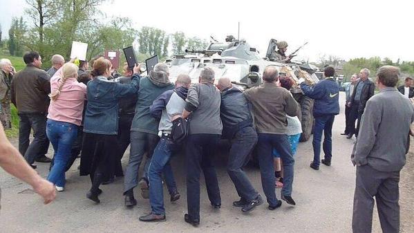 """В районе Горловки зафиксированы """"кочующие"""" установки РСЗО. Также террористы используют танки, - Тымчук - Цензор.НЕТ 8054"""