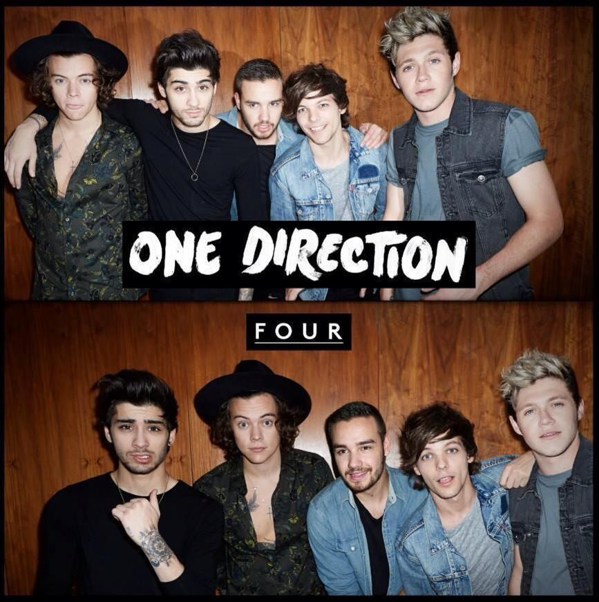 'FOUR' Album Cover (Twitter, @One Direction)