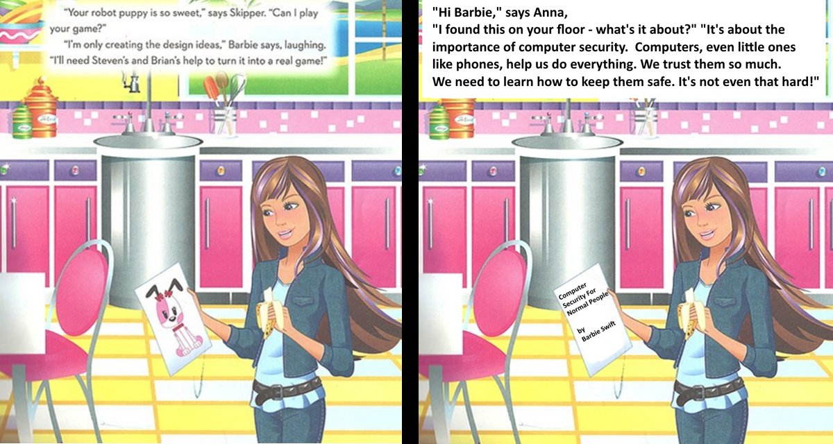 The internet fixes Barbie's 'I Can Be a Computer Engineer' picture book
