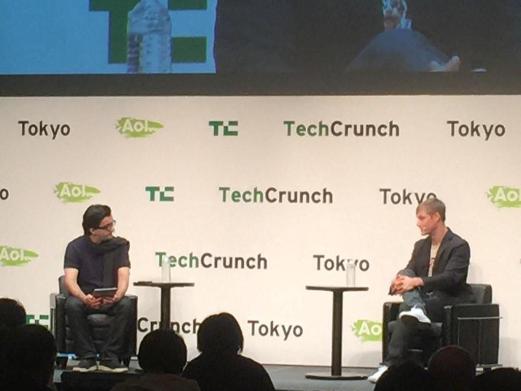 Enjoying learning about @ProductHunt from @serkantoto + @rrhoover at #TCTokyo #ProductHunt #StartUps #Tokyo http://t.co/7HV0iOCBOV