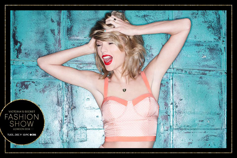 So nice, we booked her twice! Pumped to party like it's #1989 w/ @taylorswift13! #VSFashionShow http://t.co/8AqfnFqQRs