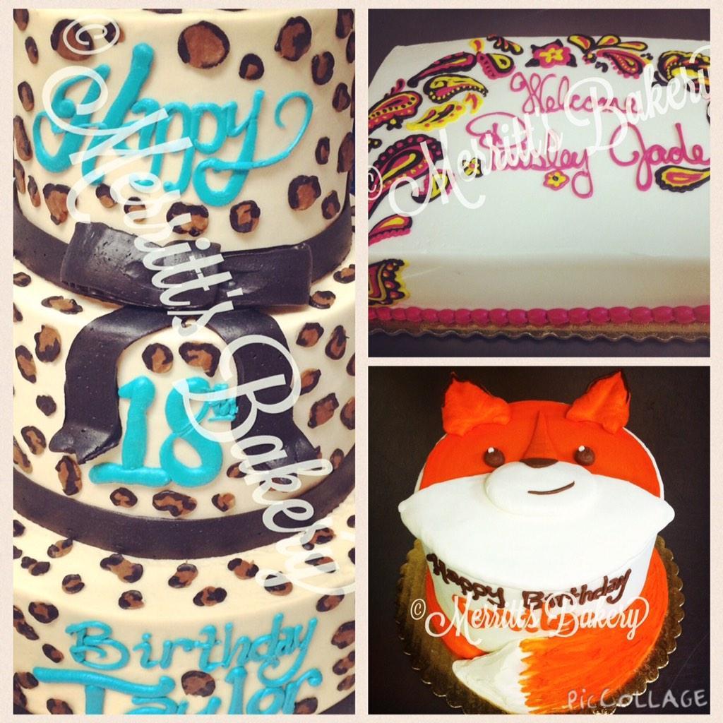 Prime Merritts Bakery On Twitter We Make Cakes With Prints Paisley Personalised Birthday Cards Veneteletsinfo