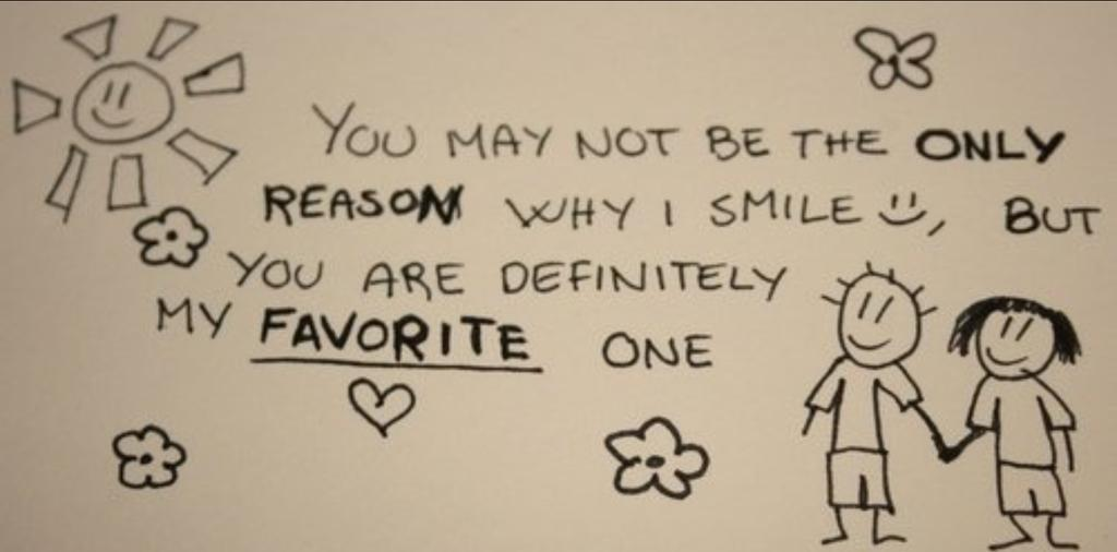 Life Quotes On Twitter You May Not Be The Only Reason Why I Smile