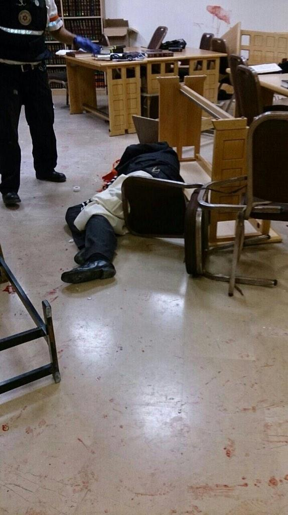 Heartbreaking images coming out of the #Jerusalem synagogue massacre. http://t.co/sCWH7E9azc