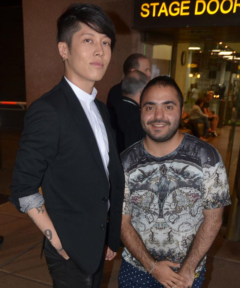 Got to meet #Miyavi today! Can't wait to see him in @UniversalPicsAU #Unbroken out January 2015! @MIYAVI_OFFICIAL http://t.co/9O4m6c8nnQ